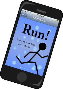 Walk or Run iPhone App