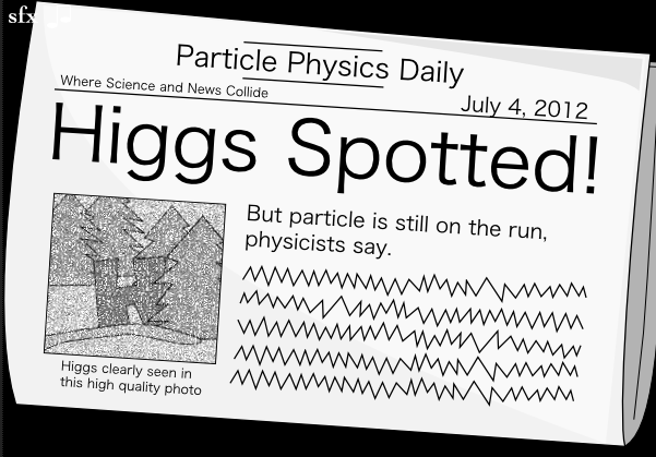 Higgs Spotted!