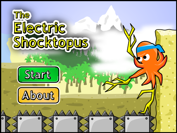 Shocktopus Main Screen