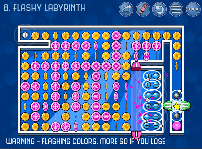 Flashy Labyrinth